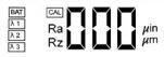 chropowatościomierz-tr-100-wyświetlacz-2